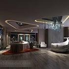 Modern Large Bathroom Interior