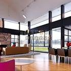 Modern woonkamer interieur V29