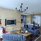 Modern Living Room Interior V31