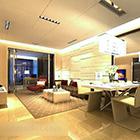 غرفة المعيشة الحديثة ككل الداخلية