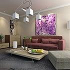 Современная мебель для гостиной Дизайн интерьера V1