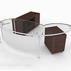 میز شیشه ای مینیمالیستی مدرن