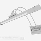 Modern minimalistisk lysrörslampa för hem