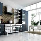Modern Minimalist Kitchen Interior