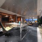 Modern Minimalist Restaurant Interior