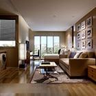 Minimalist Apartment Living Room