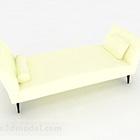 Modern tyg soffa fotpall
