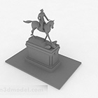 Ornamenti da equitazione moderni grigi moderni