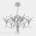 Lily Flower Chandelier