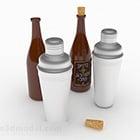 Shaker Bottle stile moderno