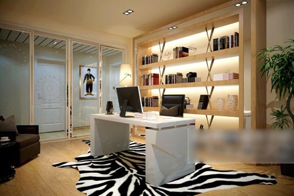 Modern Style Study Room Interior