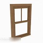 خشبي صعودا وهبوطا انزلاق النافذة