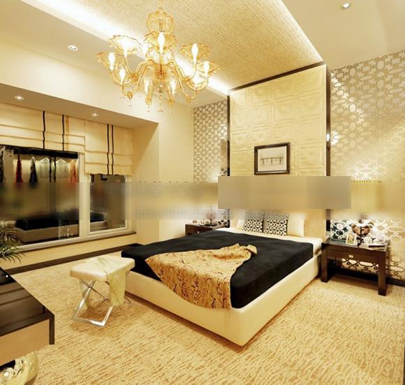 Modern Hotel Stylish Bedroom Interior 3d Model Max Vray Open3dmodel 323377