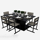الحديث طاولة الطعام مجموعة كرسي