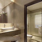 Modern Toilet Decoration Interior