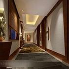 Ny kinesisk stilkorridorövergång
