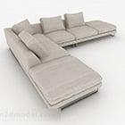 Divano Multiseater grigio minimalista nordico