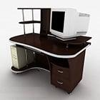 オフィスコンピューターデスクデザイン