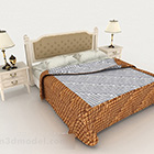 سرير مزدوج ريترو هوم