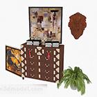 خزانة خشبية شخصية