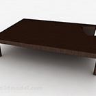 طاولة الشاي الخشبية الأنيقة
