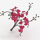 زخرفة الأوركيد الوردية