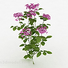 Purple Flower Decorative Plant