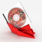 Punainen DVD-levy