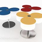 Chaise créative de style coloré
