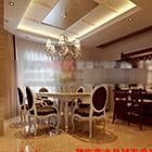 Villa Classic -ruokasali-sisustus