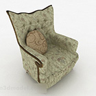 Design del divano europeo verde inglese