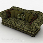 Amore verde rurale Sofa Sofa Furniture