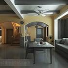 Salone rurale Design Interior