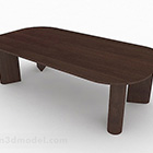 Mobili da tavolo in legno marrone rurale