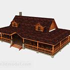 Architektura wiejskiego domu drewnianego