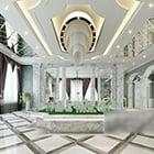 Biuro sprzedaży sufitowe projektowanie wnętrz