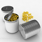 Contenitore metallico per alimenti
