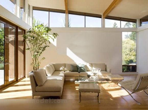 Simple Furniture Of Living Room Interior