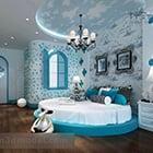 Simple Children Bedroom Interior