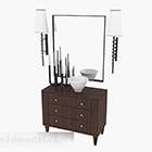 シンプルな化粧台