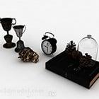 Einfache europäische Uhrdekoration