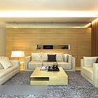 Simple Warm Room Interior
