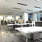 Simple Office Area Interior