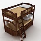 Tempat Tidur Susun Single Guardrail