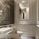 Elegant Classic Bathroom Interior