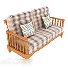 Sofa Pangkalan Kayu Dengan Tuala wanita