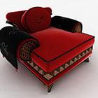 Asian Luxury Single Sofa