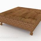 Tavolino in legno in stile sud-est asiatico