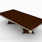 Mobili da tavolo in legno asiatici