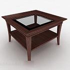 Neliönmuotoinen kotipöydän huonekalut